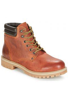 Boots Jack Jones STOKE LEATHER BOOT RUST(115492865)