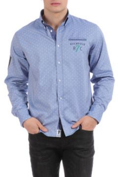 Chemise Ruckfield Chemise bleue Rugby Seven(115398144)