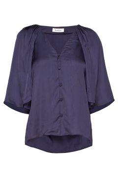 Rodebjer Lara Blues Blouses Short-sleeved Blau RODEBJER(114152810)