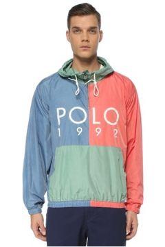 Polo Ralph Lauren Erkek 992 Kapüşonlu Colorblock Rüzgarlık S EU(122796759)