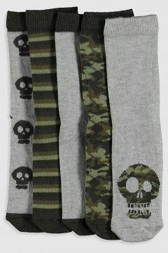 Çocuk Erkek Çocuk Soket Çorap 5\'li(128002322)