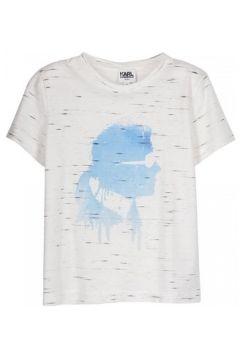 T-shirt enfant Karl Lagerfeld T-shirt blanc(98529071)