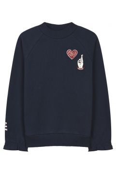 Sweatshirt mit besticktem Logo Millie(117377338)