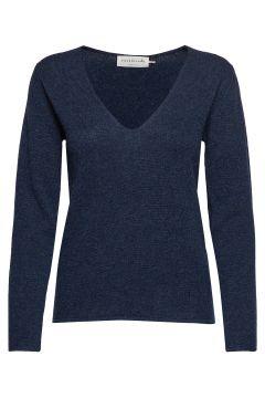Pullover Ls Strickpullover Blau ROSEMUNDE(117080610)