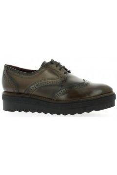 Chaussures Donna Più Derby cuir(127908748)