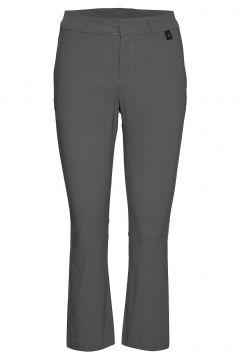 Illusion Cropped Pants Women Sport Pants Grau PEAK PERFORMANCE(116719386)