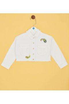 Tyess B&G Beyaz Kız Çocuk Ceket(114005948)