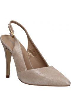 Sandales Carmens Padova sandales beige cuir suédé AF502(115393385)