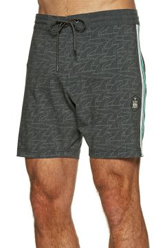 Vissla Backwards Fin Beach Grit 16.5 inch Boardshorts - Black(110360312)