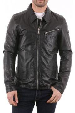 Veste Redskins Willy OTTAWA Noir (cuir)(115398469)