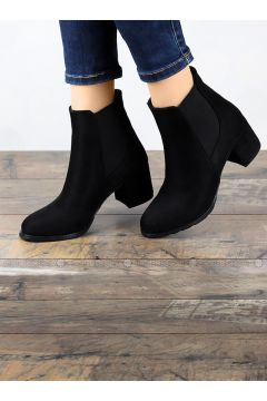 Black - Boot - Boots - Angelshe(110340352)