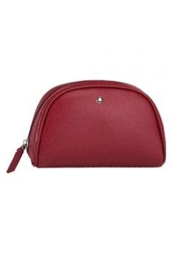 Montblanc Erkek Sartorial Vanity Kırmızı Kadın Deri Makyaj Çantası EU(113466125)
