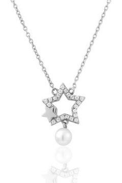 Collier Perle De Nuit Collier en Argent 925/1000 et Perle Blanche Femme(115489484)
