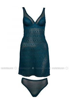 Green - Nightdress - Pierre Cardin(110320279)