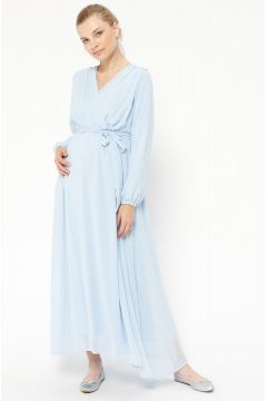 Robe De Grossesse Havva Ana Bleu / Bleu Ciel(102881494)