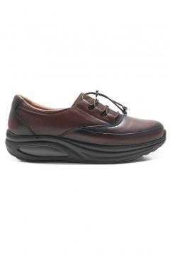 Barmea Kahve Ortopedik Topuk Dikeni Kadın Hafif Yürüyüş Ayakkabısı(110941377)