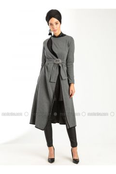 Gray - Dresses - Peramood(110318661)