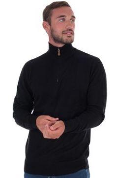 Pull Kiwi Saint Tropez Pull homme col zip noir(127962463)