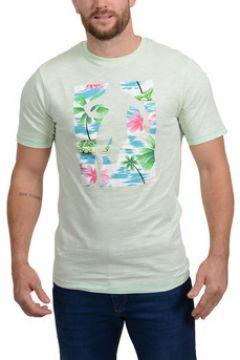 T-shirt Ruckfield T-shirt Chabal Island Vert(115447301)