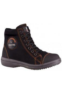 Chaussures Lemaitre BASKET DE SECURITE FEMME VITAMINE HAUTE NOIR(115600365)