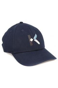 Kenzo Erkek Lacivert Logo Nakışlı Şapka EU(122536151)