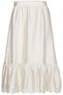 Betty, 636 Textured Poly Knielanges Kleid Creme STINE GOYA(114163305)
