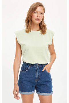 DeFacto Kadın Düşük Omuzlu Basic Trend Tişört(119065682)