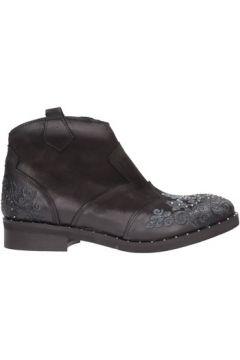 Boots N\'sand - Tronchetto nero nabuk 1625(101788207)