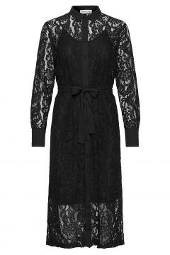 Dress Ls Kleid Knielang Schwarz ROSEMUNDE(116303880)