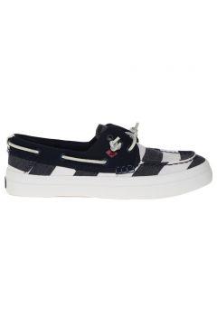 Sperry Top-Sider Kadın Kanvas Lacivert Düz Ayakkabı(113960713)