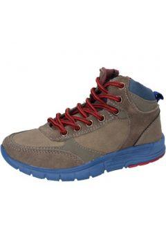 Chaussures enfant Blaike sneakers gris daim cuir AD694(115393759)
