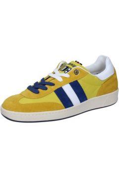 Chaussures D\'acquasparta sneakers jaune daim textile AB905(115395379)