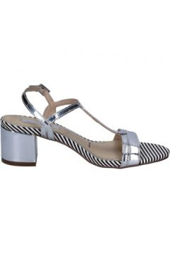 Chaussures escarpins Ikaros sandales argent cuir BT759(98485045)