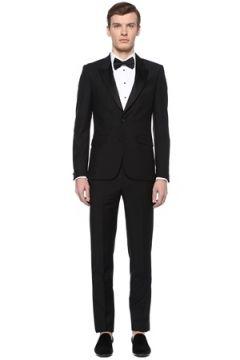 Givenchy Erkek Siyah Kırlangıç Yaka Yün Smokin 50 IT(108378095)