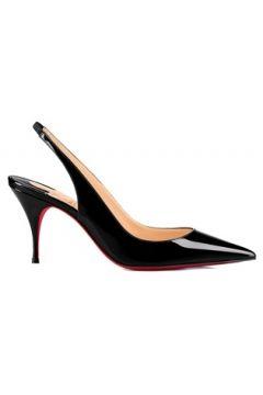 Christian Louboutin Kadın Clare Siyah Deri Topuklu Ayakkabı 39 EU(113467912)
