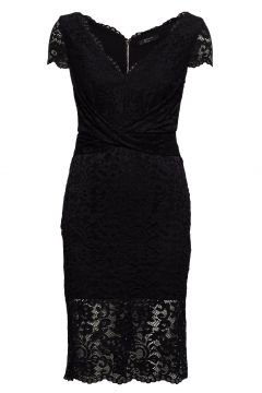 Claudia Lace Dress Kleid Knielang Schwarz MARCIANO BY GUESS(114163926)