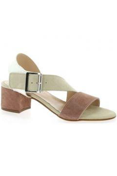 Sandales Reqin\'s Nu pieds cuir velours(98531102)