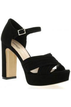 Sandales Fremilu Nu pieds cuir velours(127910207)