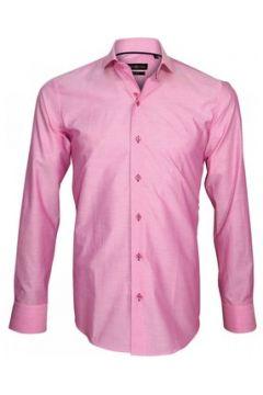 Chemise Emporio Balzani chemise en popeline settimo rose(115423994)