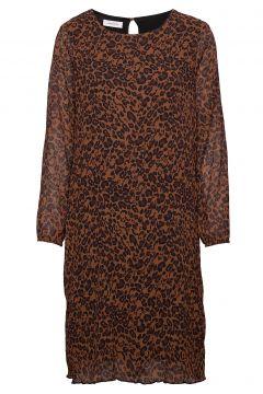 Dress Woven Fabric Kleid Knielang Braun GERRY WEBER(114165030)