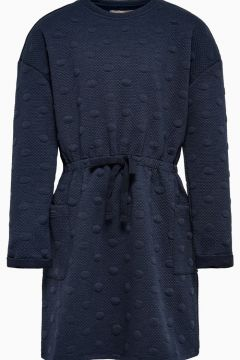 ONLY Sweatshirt Kleid Damen Blau(122484507)