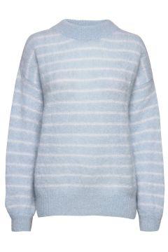 Albert Sweater Awn Strickpullover Blau IBEN(109200398)