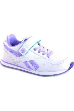 Chaussures enfant Reebok Sport BIANCO VIOLA PELLE(115439118)