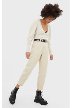 Twill-Hose im Slouchy-Fit TRANSPARENT(113907989)