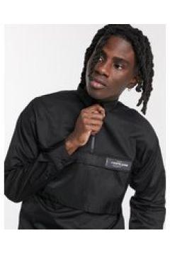Sixth June - Camicia comoda con pannello sulla tasca nera-Nero(124794918)