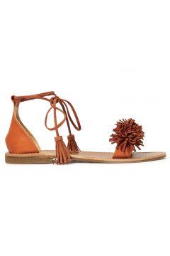 Sandalen mit Bommel(112327817)