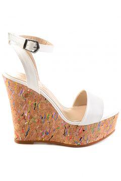 Bambi Beyaz Kadın Ayakkabı 09(109223484)