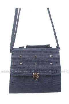 Navy Blue - Shoulder Bags - AKZEN(110314180)