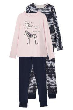 NAME IT 2-pack Nightwear Damen Blau(116289417)