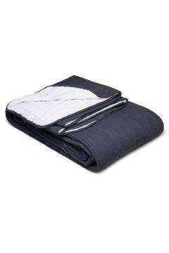 Bedspread Linen Blend K. Decke Blau GRIPSHOLM(114165544)